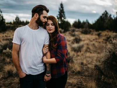 Mac & Brandon | Smith Rock Engagement
