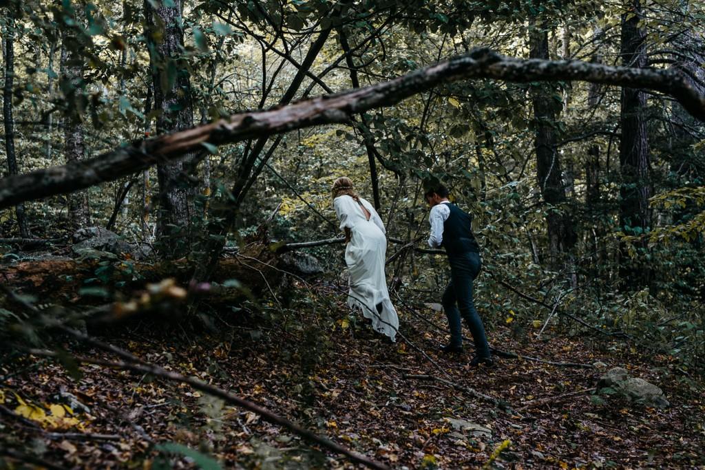 erinwheatco-8015-1024x683 Kirsten & Justin | Foxfire Mountain House Wedding