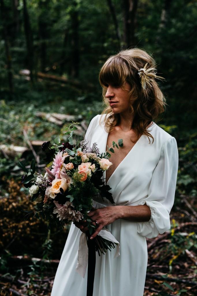 erinwheatco-8070-683x1024 Kirsten & Justin | Foxfire Mountain House Wedding