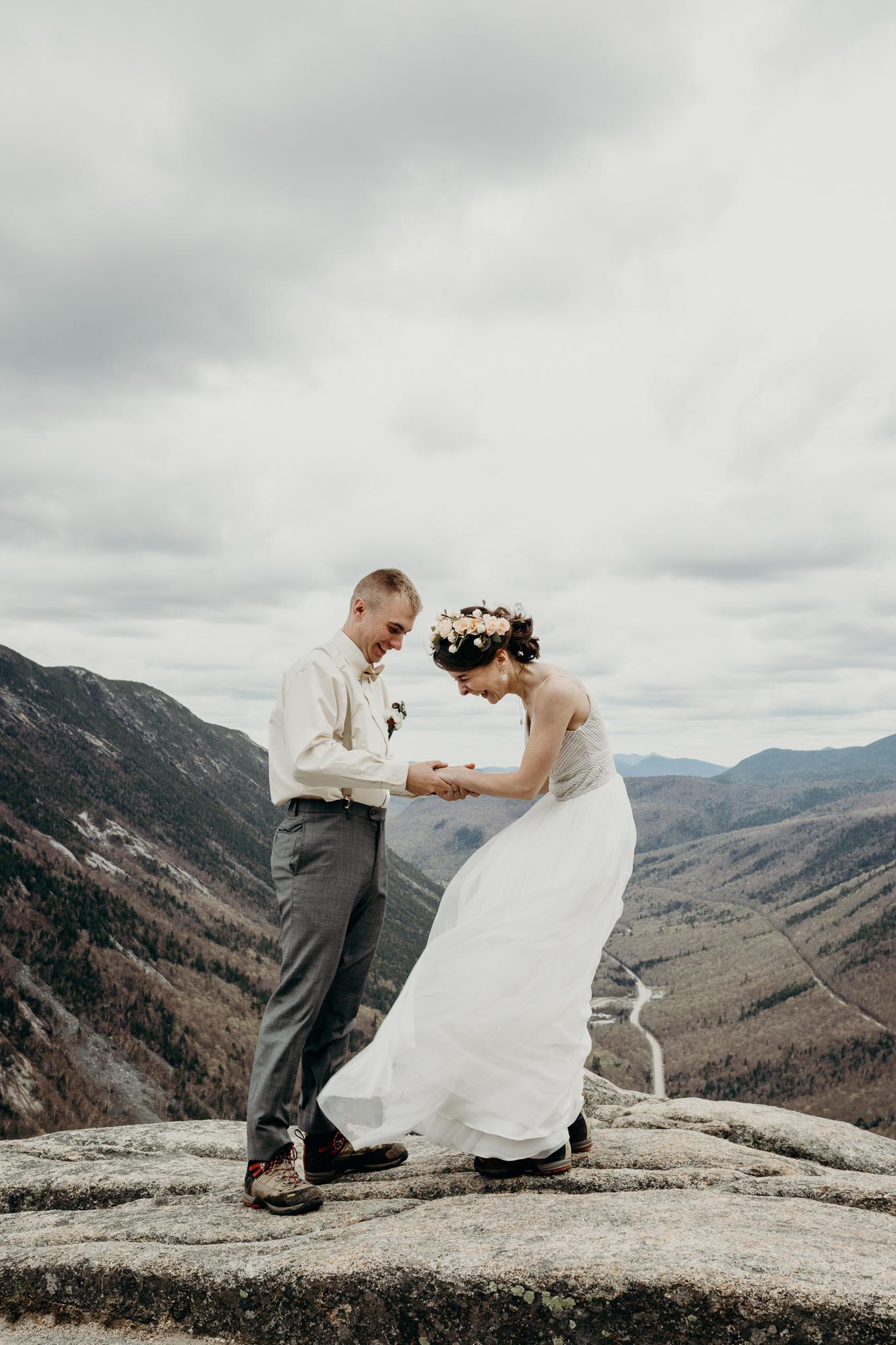LarueElopementerinwheatco-3872 Mount Willard Elopement | Calib & Scotlyn