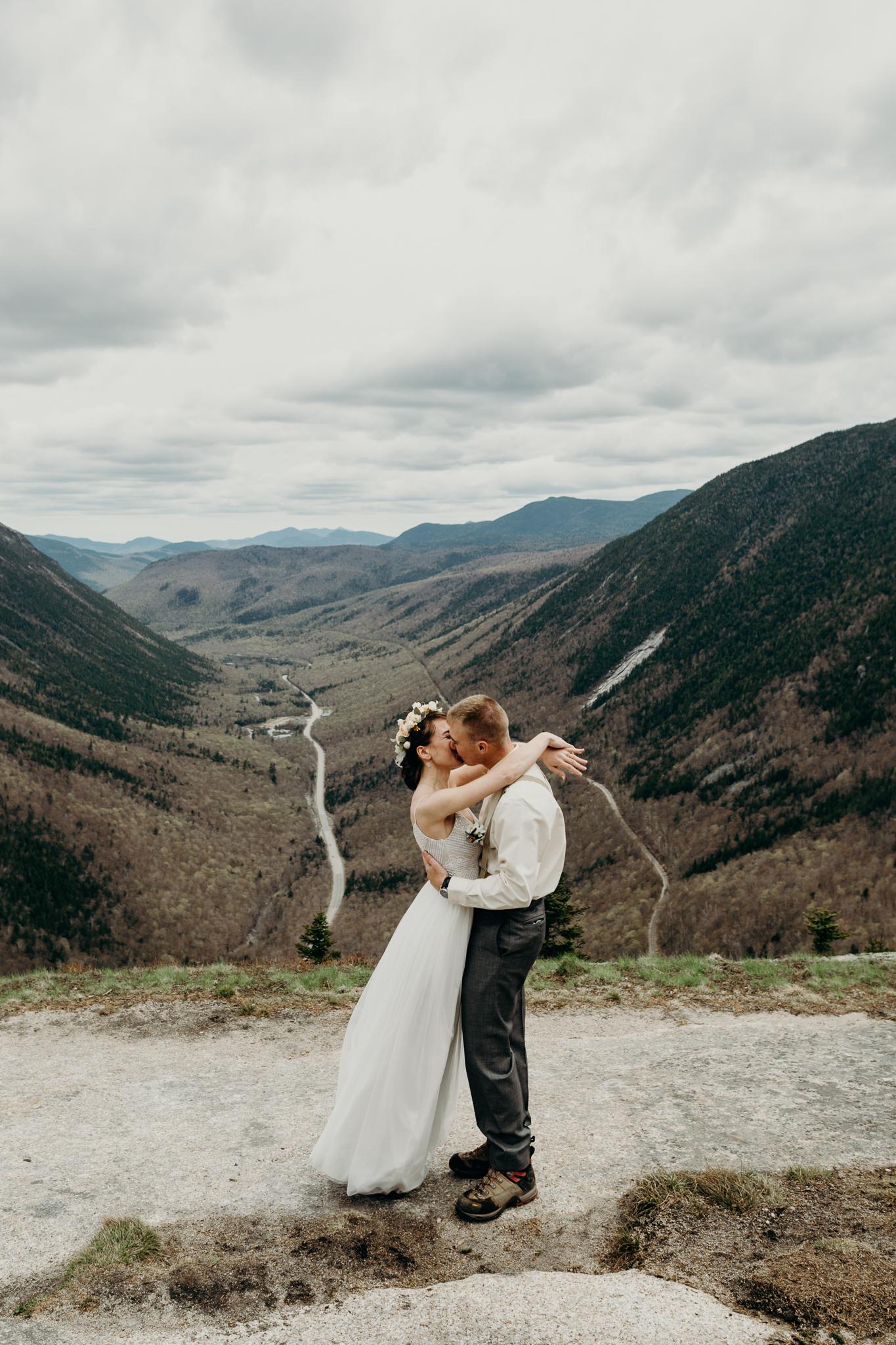 LarueElopementerinwheatco-4064 Mount Willard Elopement | Calib & Scotlyn