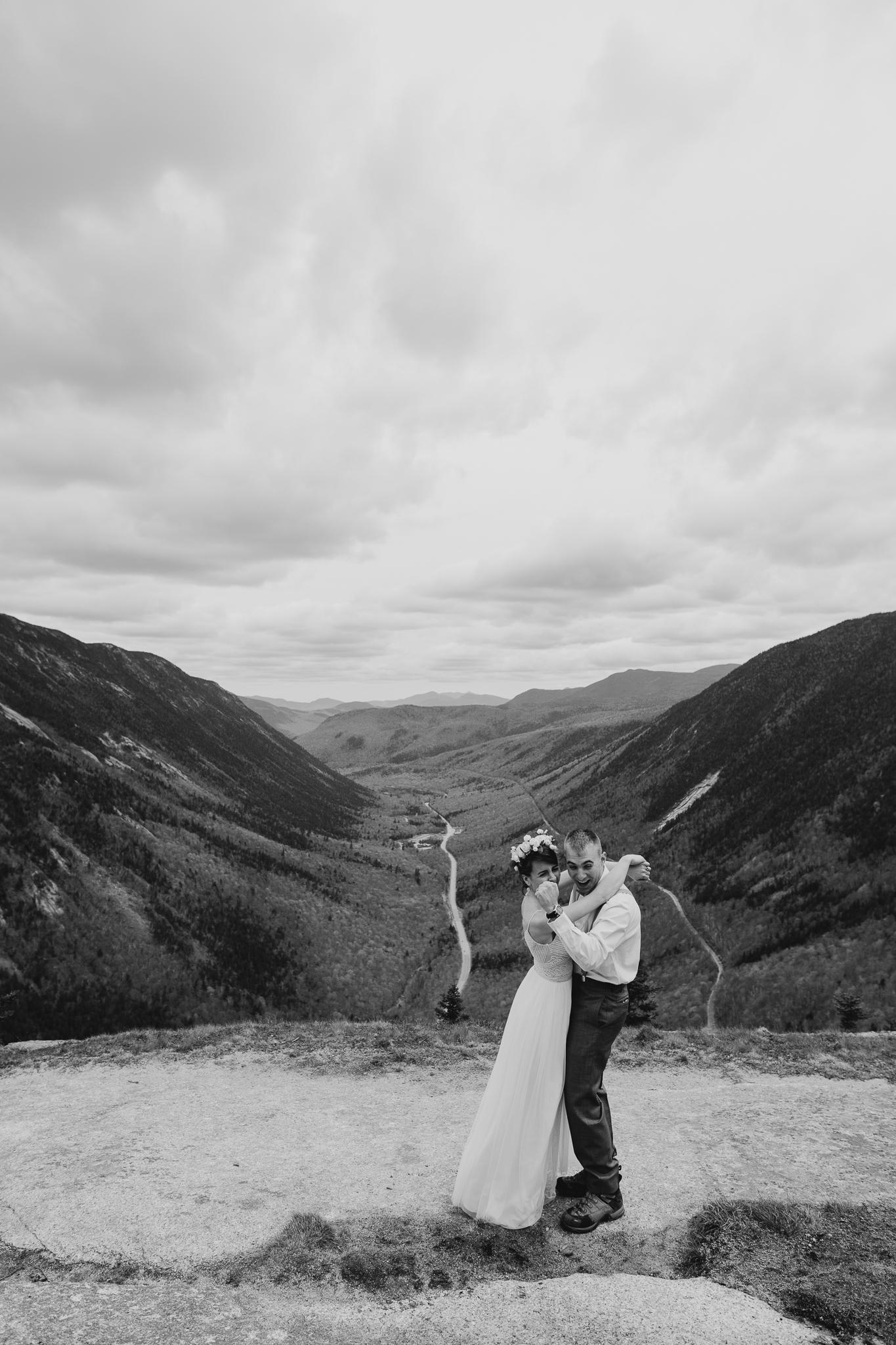 LarueElopementerinwheatco-4068 Mount Willard Elopement | Calib & Scotlyn