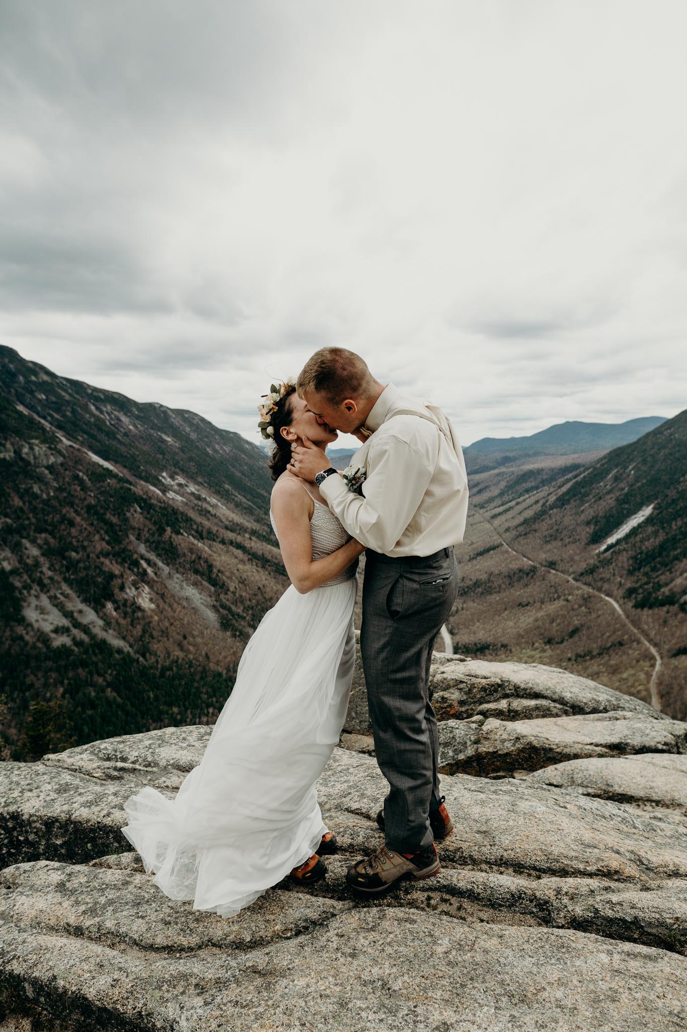 LarueElopementerinwheatco-4098 Mount Willard Elopement | Calib & Scotlyn