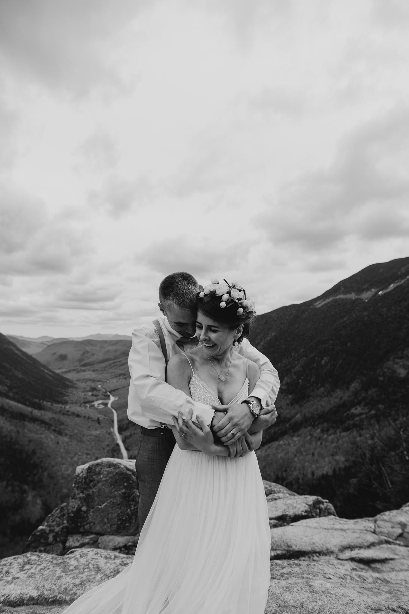 LarueElopementerinwheatco-4117 Mount Willard Elopement | Calib & Scotlyn