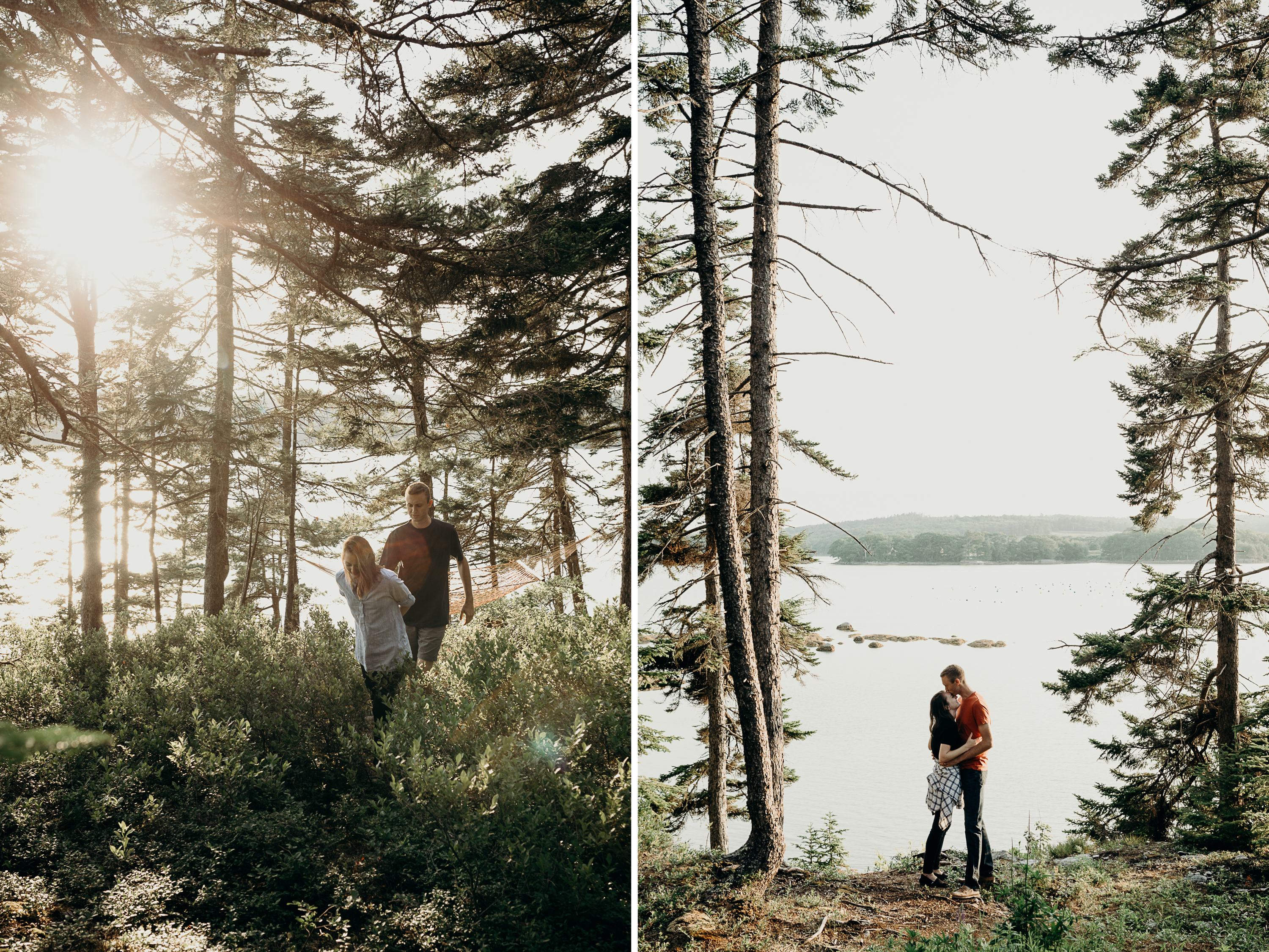 1-1 Anniversary Session on the Coast of Maine | Sarah & Dan