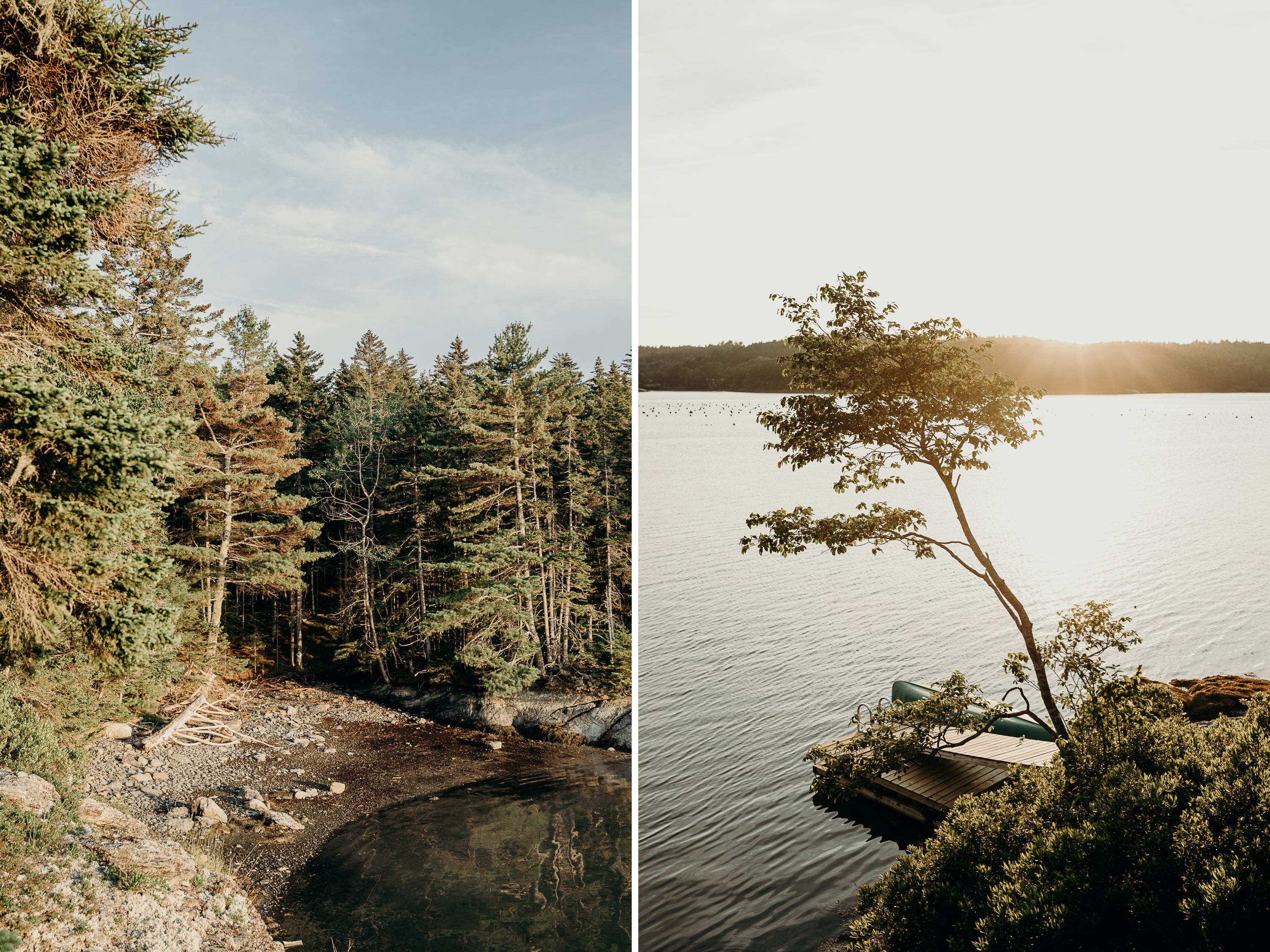 2-1 Anniversary Session on the Coast of Maine | Sarah & Dan