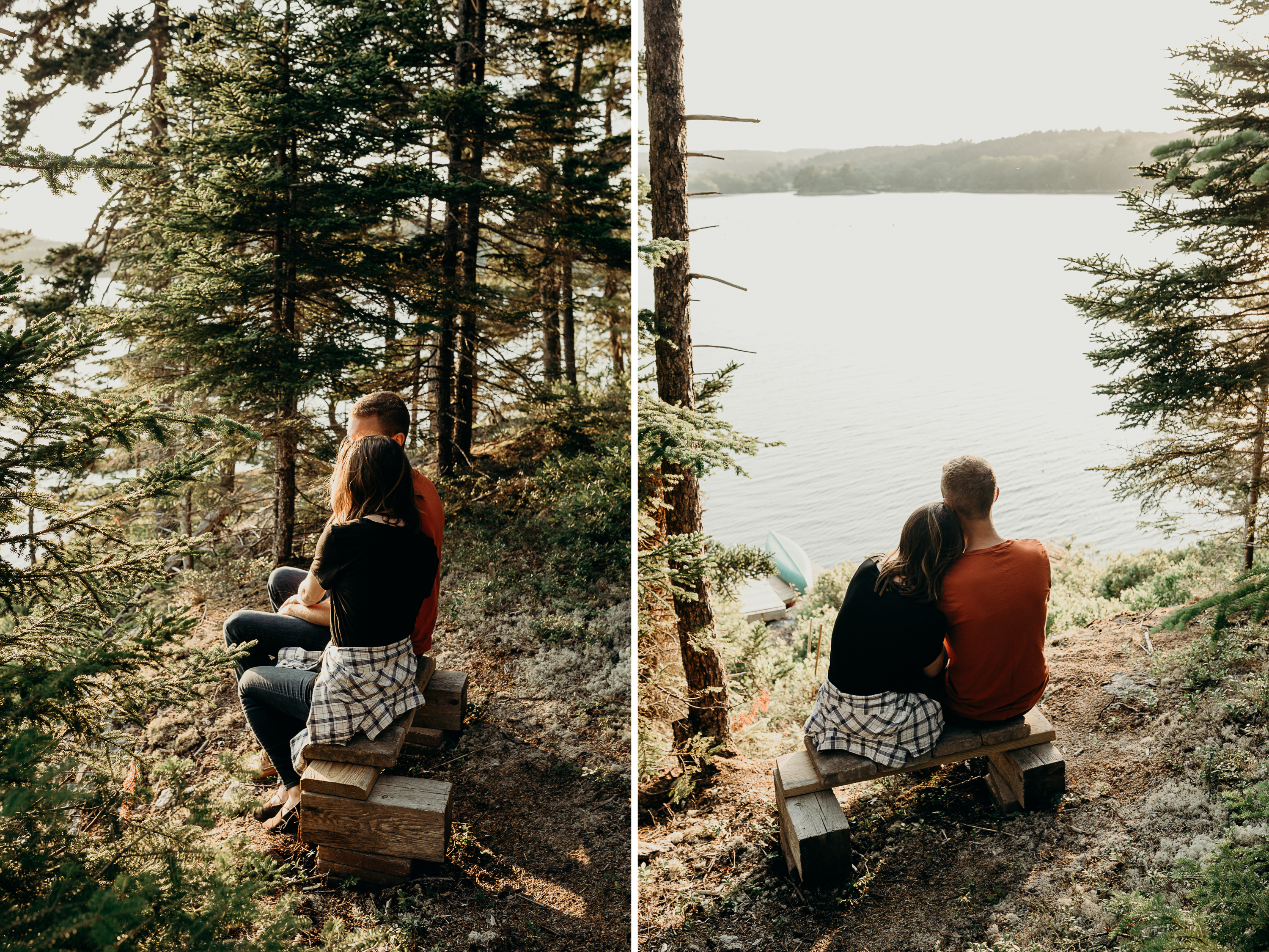 4-1 Anniversary Session on the Coast of Maine | Sarah & Dan