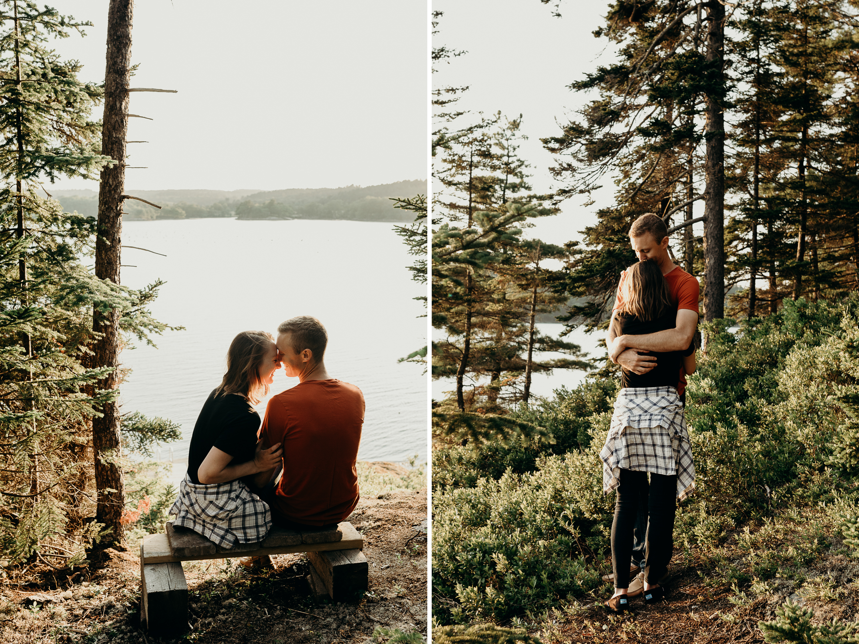 5-1 Anniversary Session on the Coast of Maine | Sarah & Dan