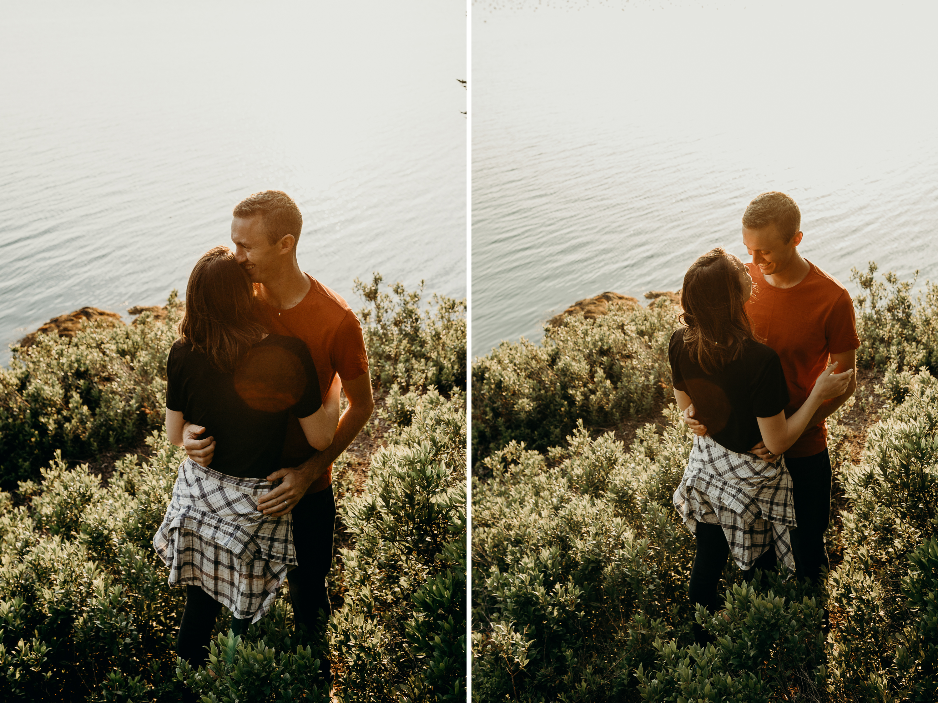 6-1 Anniversary Session on the Coast of Maine | Sarah & Dan