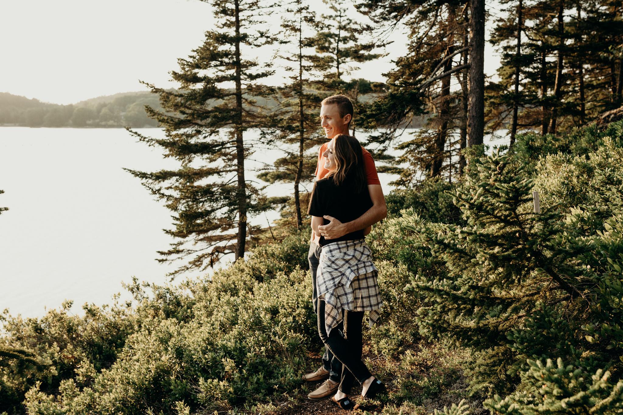 erinwheatco-2574 Anniversary Session on the Coast of Maine   Sarah & Dan