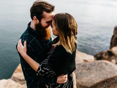 Laura & Dustin | Coastal Maine Engagement