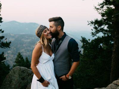 Meg & Tony | Colorado Engagement in the Rockies