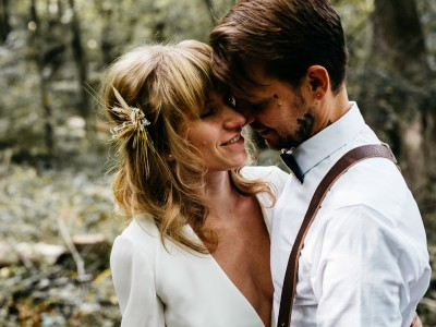 Scandinavian Inspired Intimate Catskills Wedding