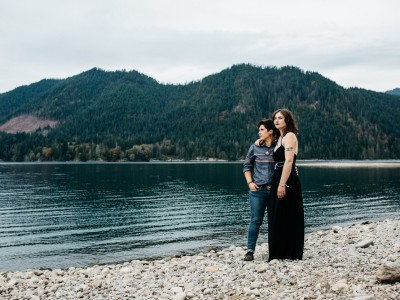 Intimate Washington Camping Elopement