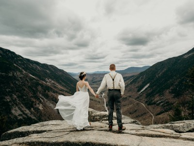 Mount Willard Elopement | Calib & Scotlyn