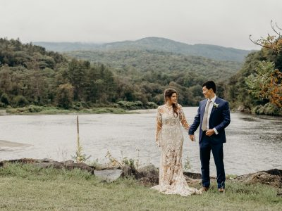 Fall Wedding in the Green Mountains | Will & McColl