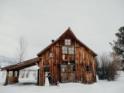 Hayden & Todd   Wilson, Wyoming Wedding Portraits