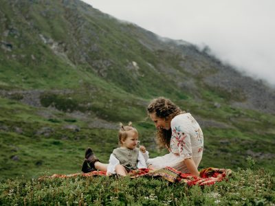 Hanna & Audrey| Hatcher Pass, Alaska  with Mama & Babe