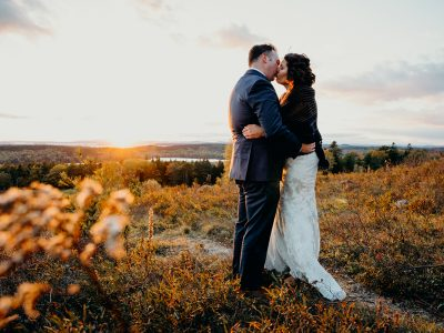 Annie & Tony | Fall Acadia National Park Elopement