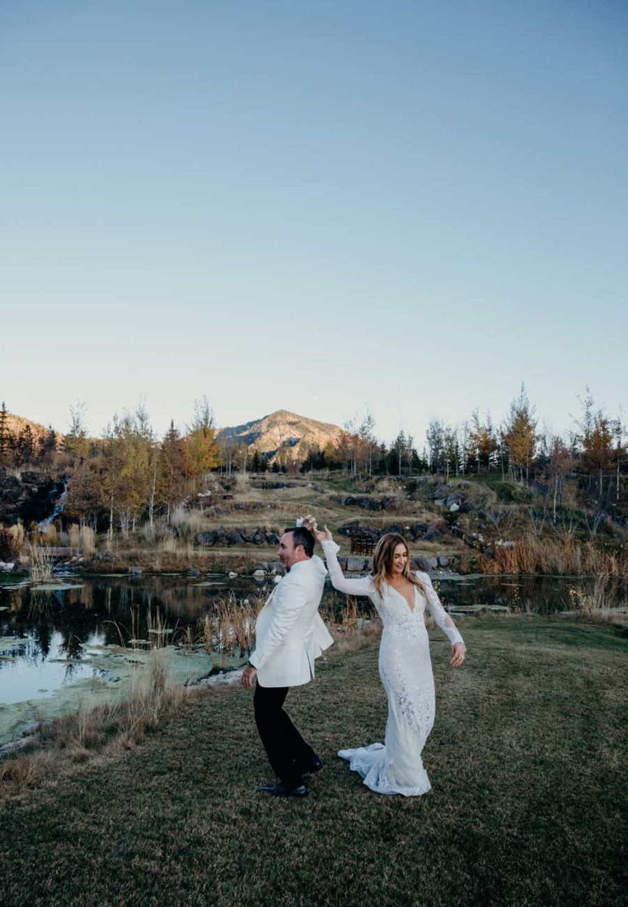 Jackson Hole Wedding along the Snake River
