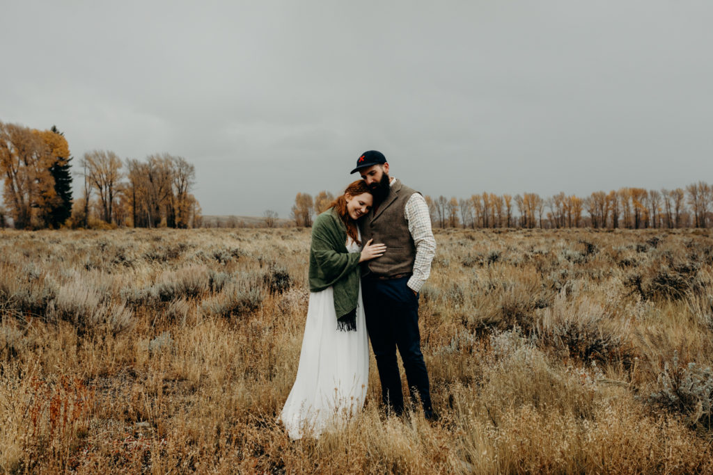 Jackson Hole Elopement in Grand Teton National Park