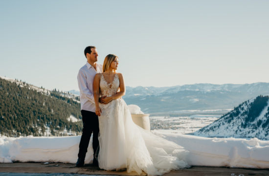 Jackson Hole Wedding at Amangani Resort