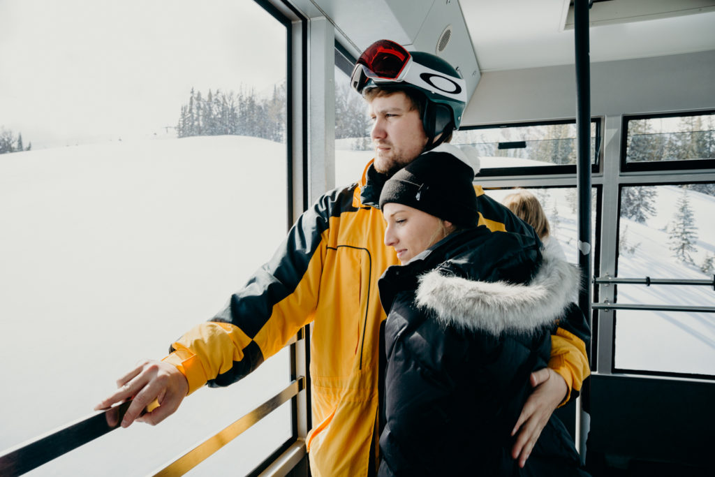 Jackson Hole Mountain Resort Ski Wedding