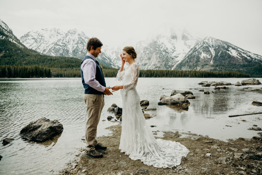 jackson hole backcountry elopement