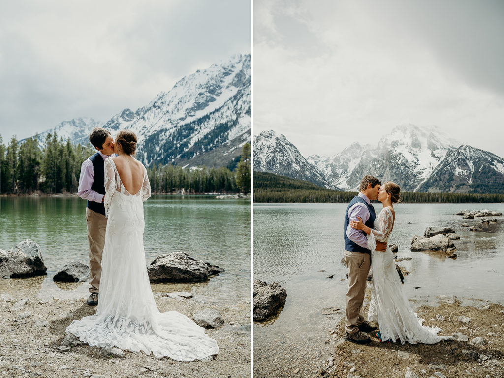 elopement in grand teton national park backcountry