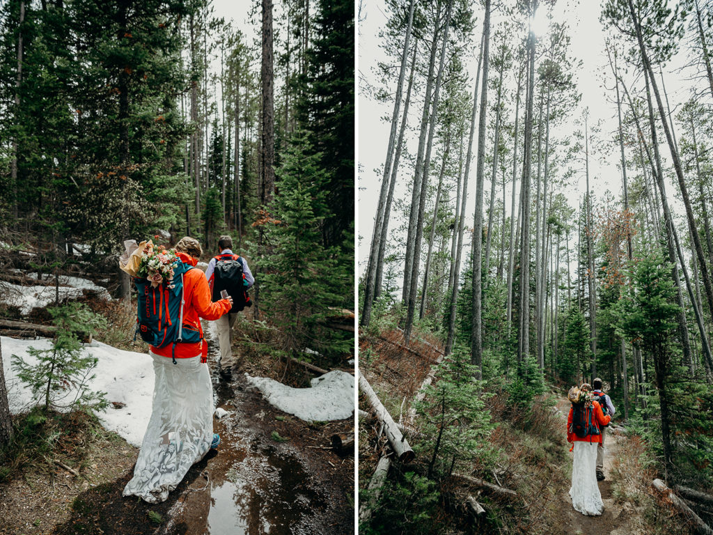 backcountry elopement in grand teton national park