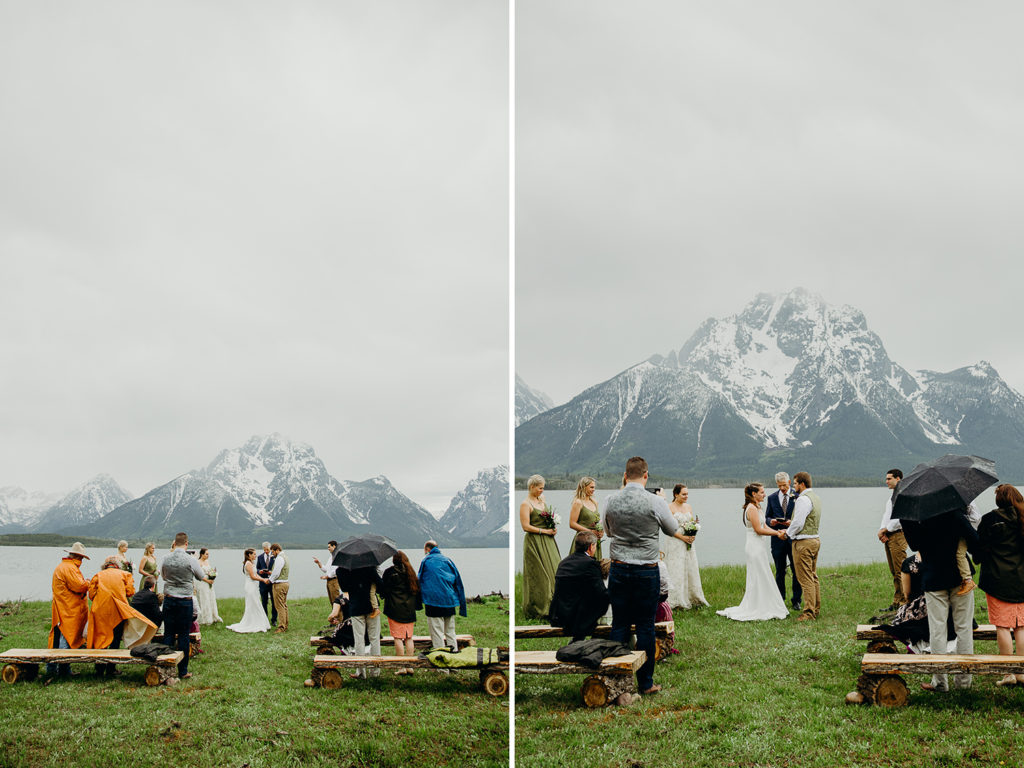 Grand Teton National Park Wedding in Colter Bay