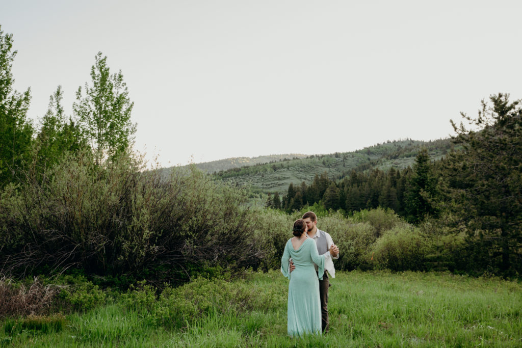 driggs idaho wedding