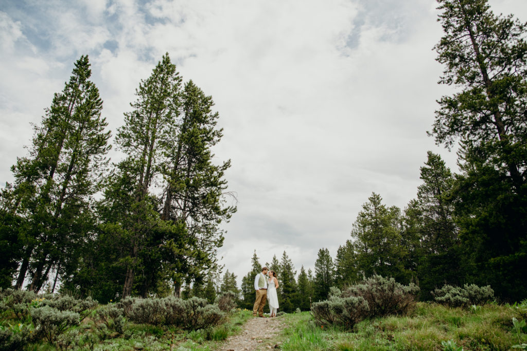Colter Bay Grand Teton National Park Wedding