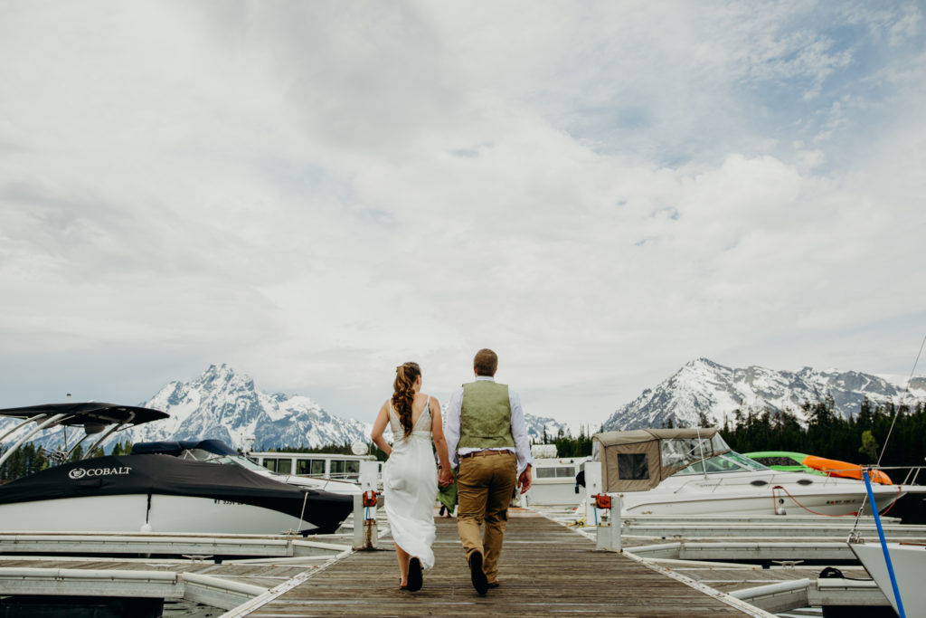 Colter Bay Wedding in Grand Teton National Park
