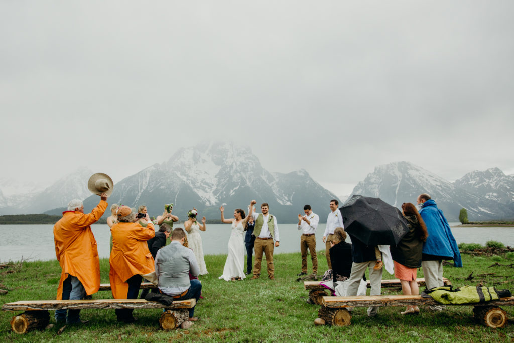 Jackson Hole Wedding In Colter Bay