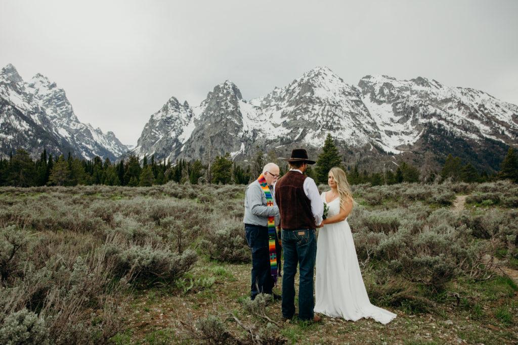 grand teton national park elopement in jackson hole