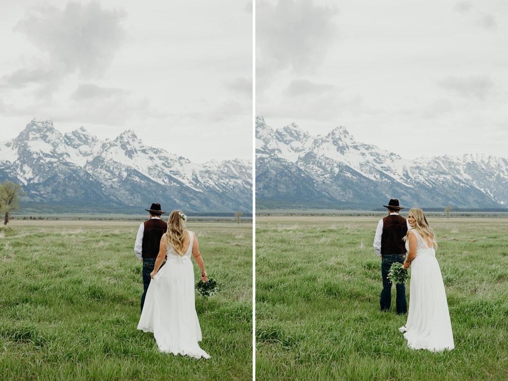 ranch wedding in jackson hole