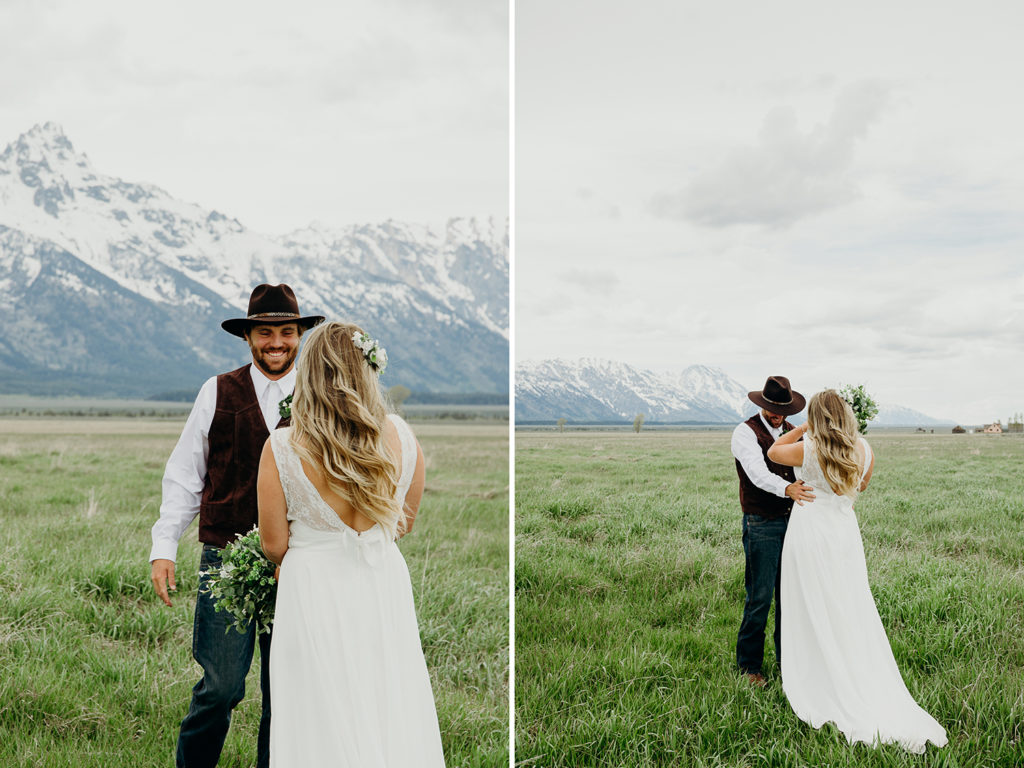 country ranch wedding in jackson hole wyoming
