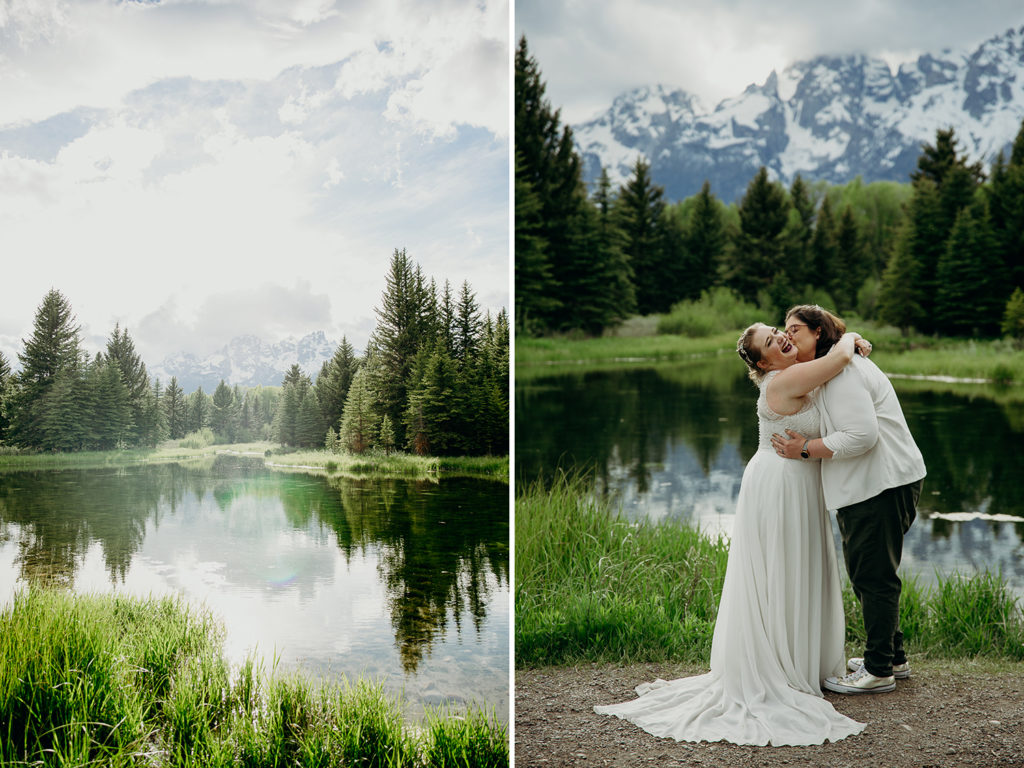 Lesbian Wedding at Grand Teton National Park