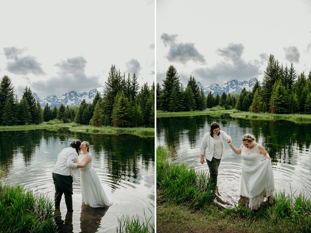 Adventurous Elopement at Schwabachers Landing