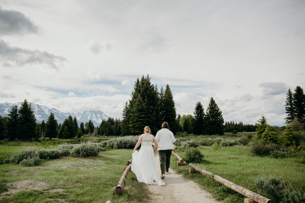 LGBTQ+ Wedding in Jackson Hole