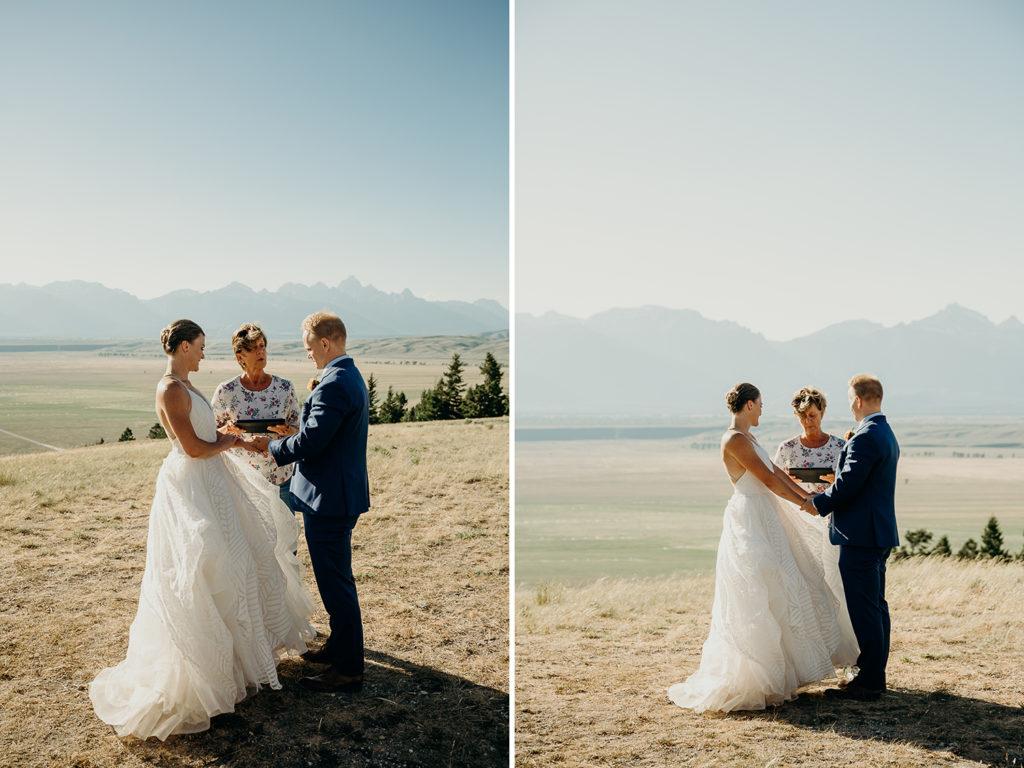 Intimate Wedding Jackson Hole