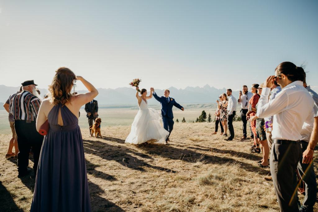 Jackson Hole Wedding at Amangani