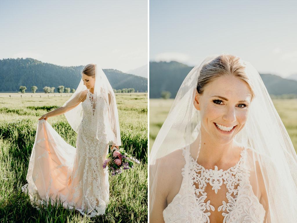 bride at mormon row
