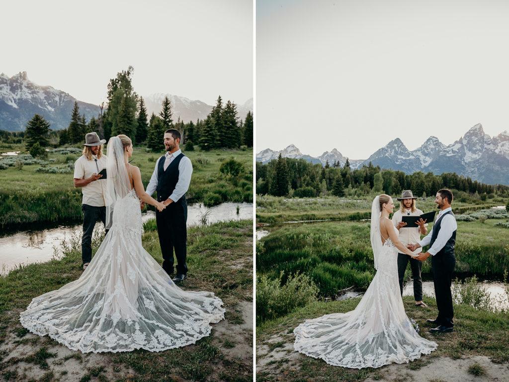 grand teton national park elopement in jackson hole wyoming