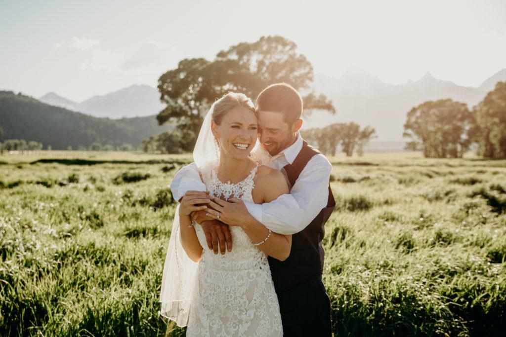 Mormon Row wedding