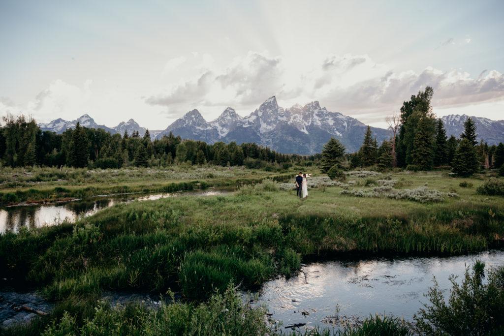 Grand Teton National Park Elopement