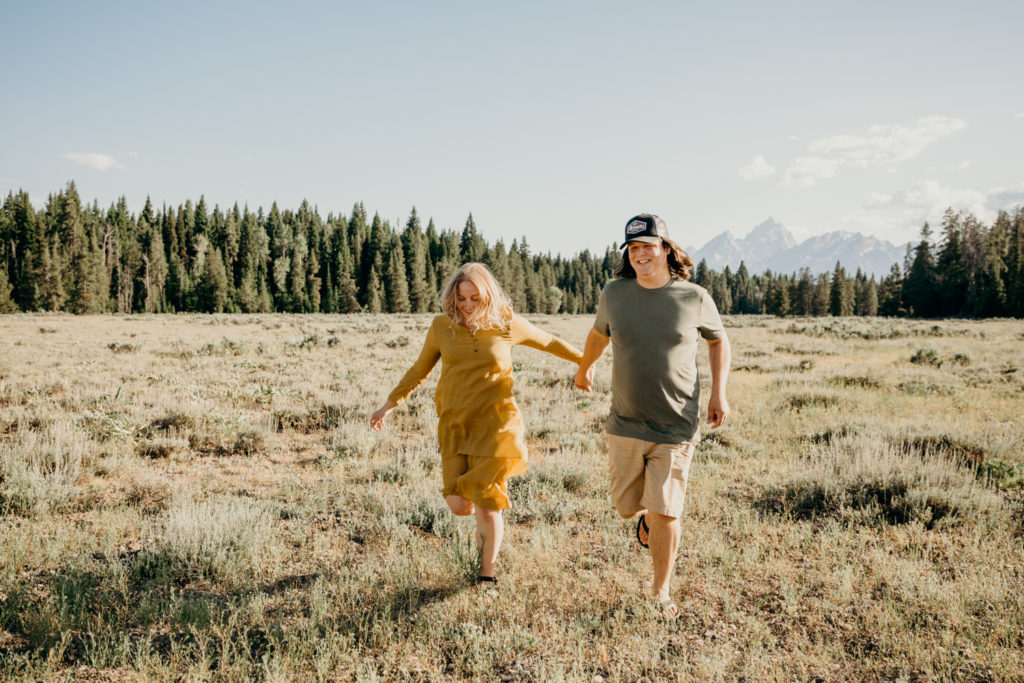 Jackson Hole engagement photographer