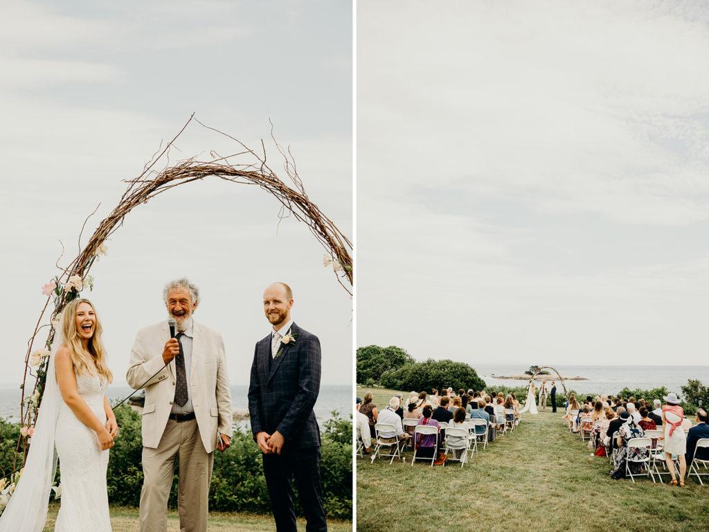 Wedding on the Coast of Maine