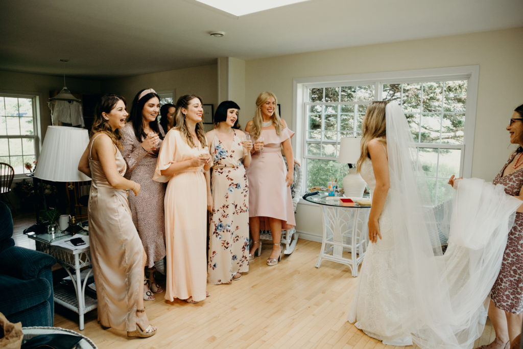 Maine Wedding on Flye Point